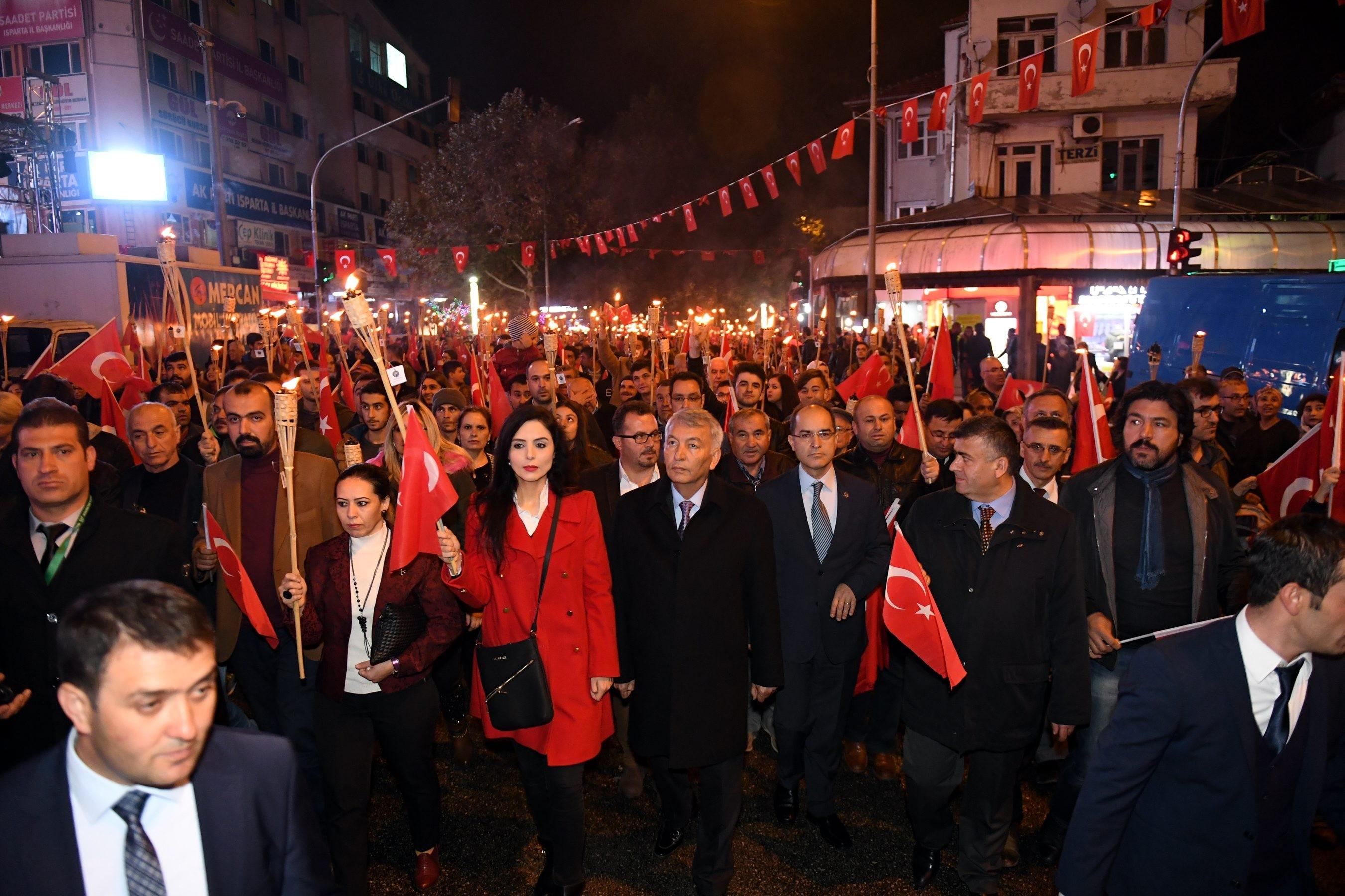 Isparta'da 29 Ekim Cumhuriyet Bayramı Etkinlikleri