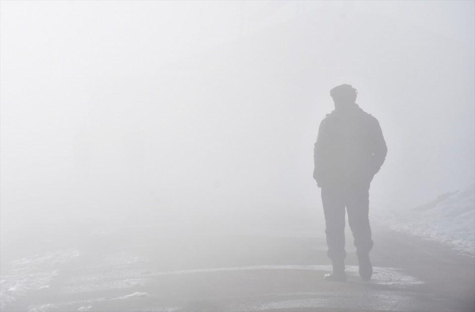 Muş ovası'nda sis güzelliği