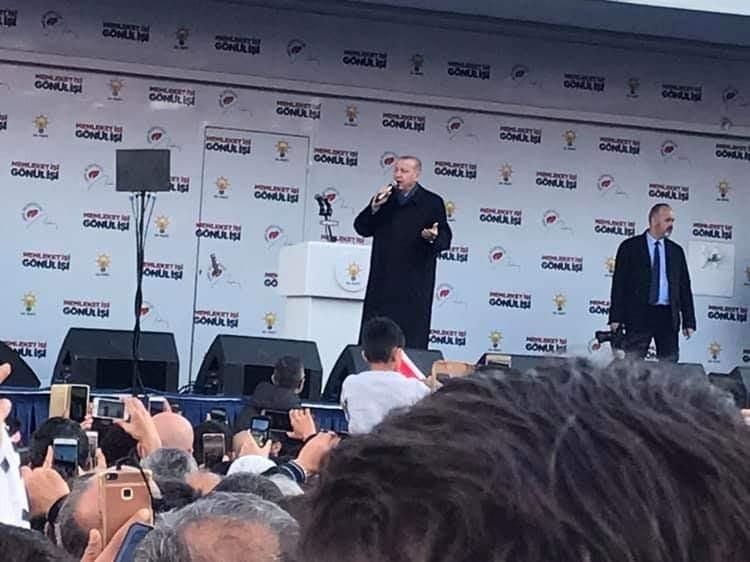 Cumhurbaşkanı Erdoğan Isparta ve Burdur 2019 mitingi