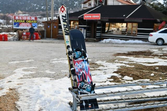 işte Isparta'da Davraz Kayak Merkezi'nin muhteşem özellikleri