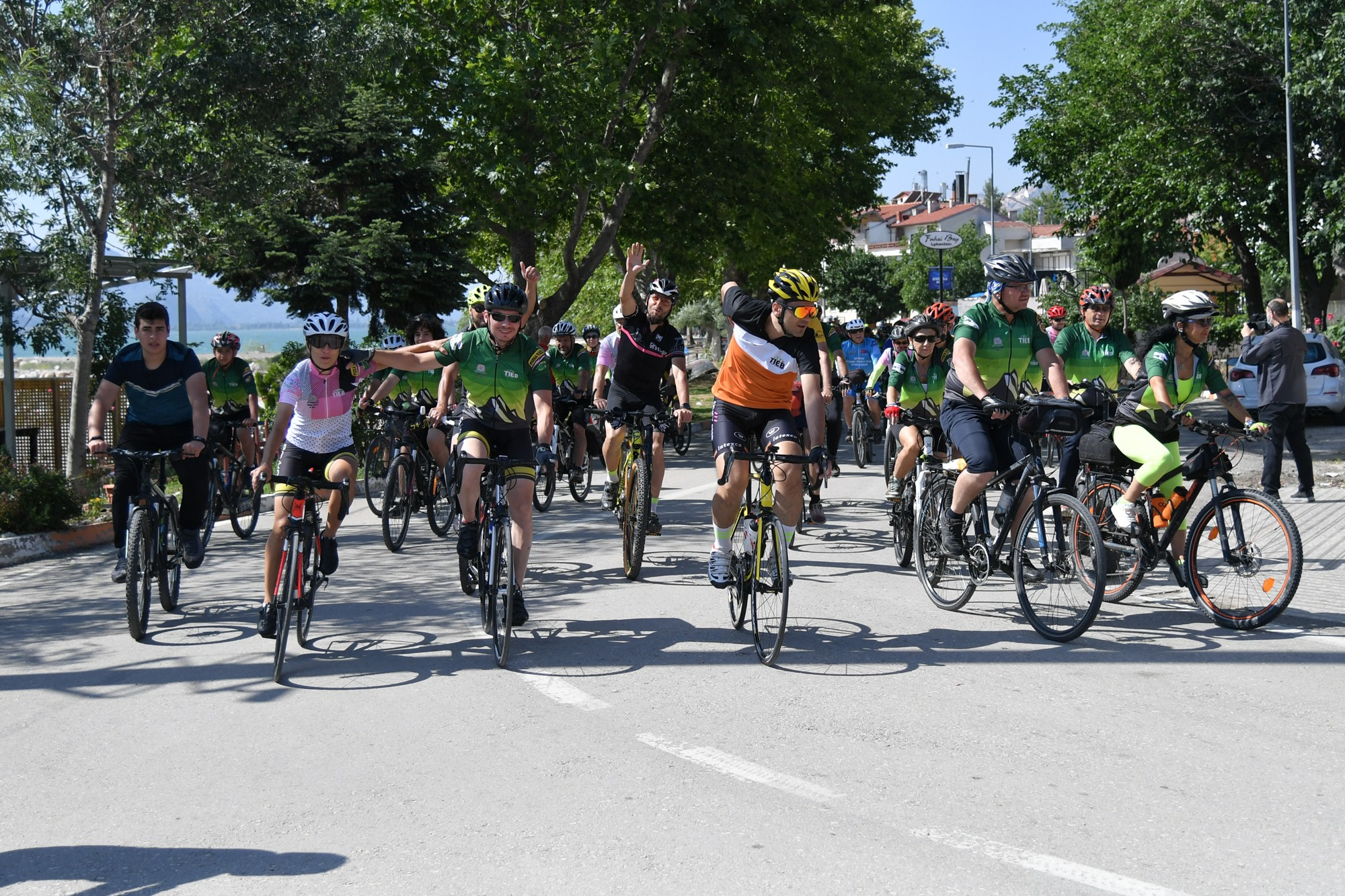 Isparta'dan başlayan bisiklet festivalinden en güzel kareler