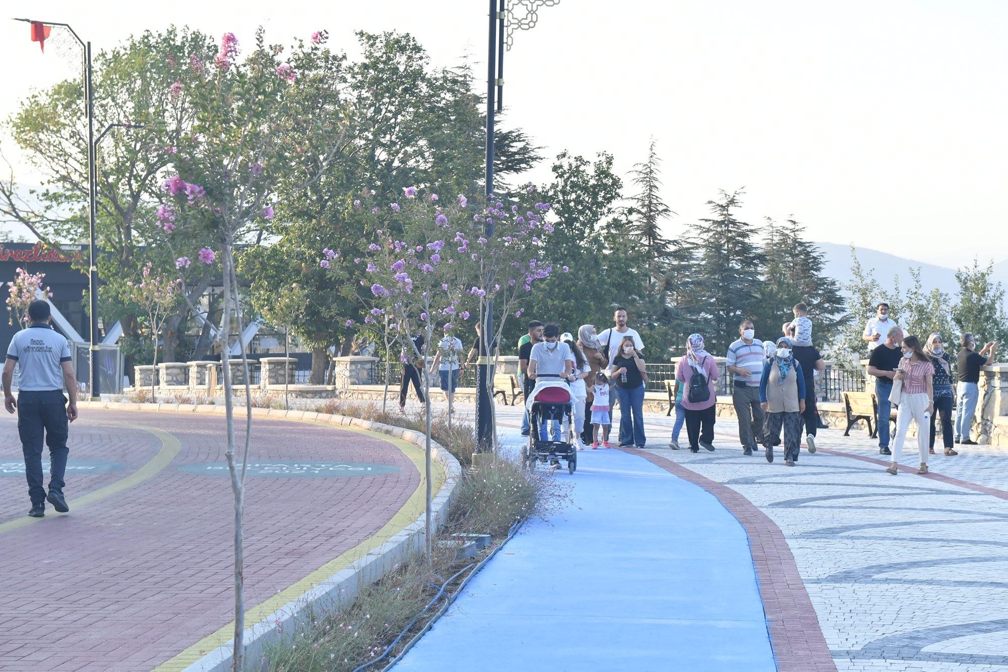 Isparta'nın seyir terası, yeni cazibe merkezi Kirazlıdere açıldı