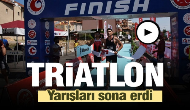17. Eğirdir Triatlon ve Aquatlonu Sona Erdi