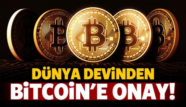 Dünya devi Bitcoin'e onay verdi!